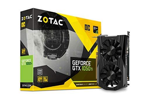 ZOTAC GeForce GTX 1050 Ti OC Grafikkarte (NVIDIA GTX 1050 Ti, 4GB DDR5, 128bit, Base-Takt 1392 MHz, Boost-Takt 1506 MHz, 7 GHz)