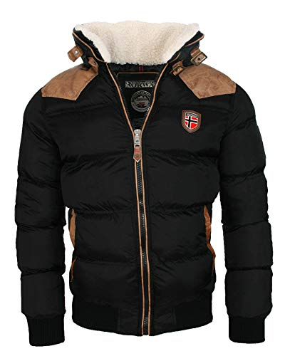 Geographical Norway warme Winterjacke Designer Herren Winter Stepp Jacke...