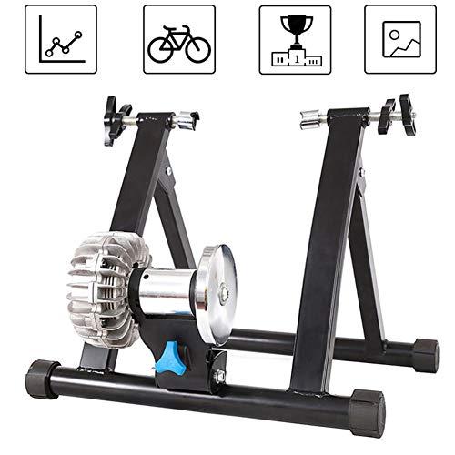 NNZZY Fahrrad Rollentrainer, Fluid Bike Trainer Ständer, Indoor Fahrrad Übungsständer, Rad Rollentrainer Ermöglicht Fahrradtraining Zuhause