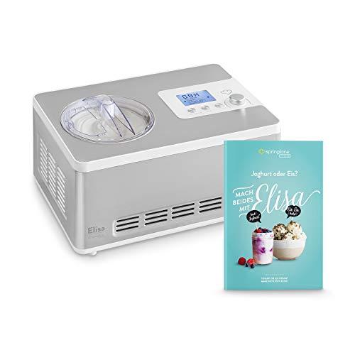 Eismaschine & Joghurtbereiter Elisa 2,0 L mit selbstkühlendem Kompressor 180 W,...
