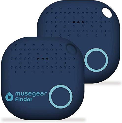 musegear/® Schl/üsselfinder mit Bluetooth App I Keyfinder laut f/ür Handy in dunkelblau I GPS Ortung//Kopplung I Schl/üssel Finden