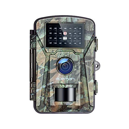 APEMAN Wildkamera 16MP 1080P mit Infrarot-Nachtsicht bis zu 65 Fuß/20 m IP66...