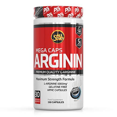 All Stars Arginin Mega Caps - Creatin Mega, Kapseln á...