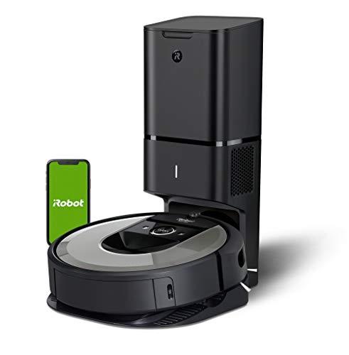 iRobot Roomba i7+ (i7556) Saugroboter, automatische Absaugstation, intelligente...