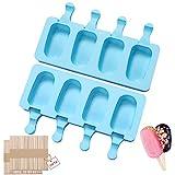 Eisformen eis am stiel silikon-Popsicle Formen Set-eis am...
