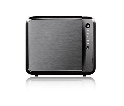 Zyxel Privater Cloud Speicher / Storage [4-Bay NAS] mit Fernzugriff und Media Streaming  (JBOD, RAID 1, RAID 5) [NAS542]