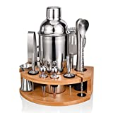 Cocktailshakerset, Esmula 750ML roestvrijstalen barman-set ...