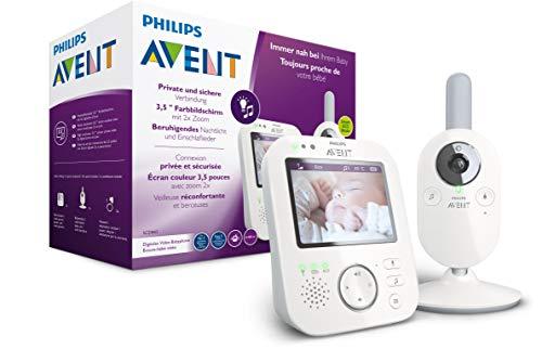 Philips AVENT SCD843/26 Video-Babyphone, 3,5 Zoll...