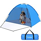 Sunnila Strandmuschel, Sonnenschutz Tragbar Beach Zelt,...