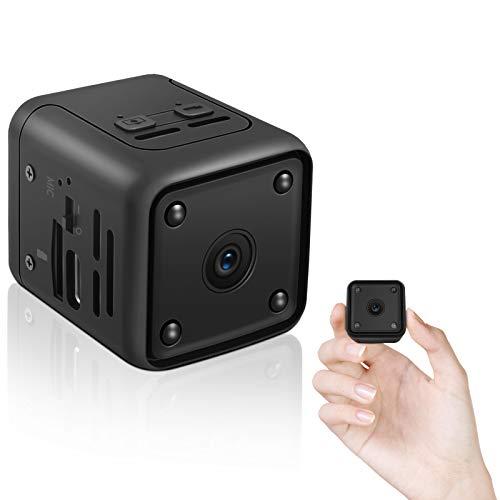 Mini Kamera,1080P HD Kleine Überwachungskamera Lange Batterielaufzeit...
