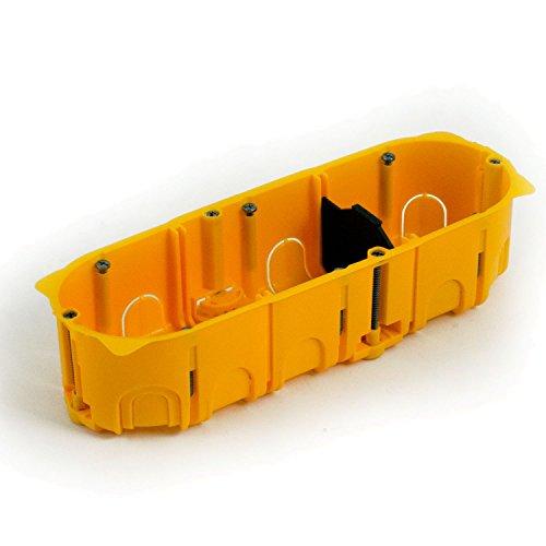 25er Pack Blass Elektro 22042 Hohlwanddose 45 mm orange
