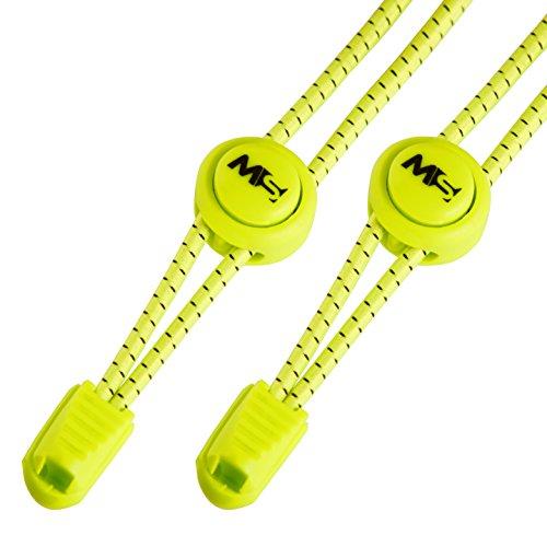 Master Laces – Elastische Schnürsenkel mit Schnellverschluss 120cm– optimal für Sport, Kinder, Sneaker und Wandern – einfaches System für...