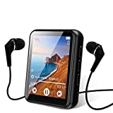 MP3 Player, 16GB Bluetooth 5.0 MP3 Player mit 1.8' Touchscreen, HiFi...