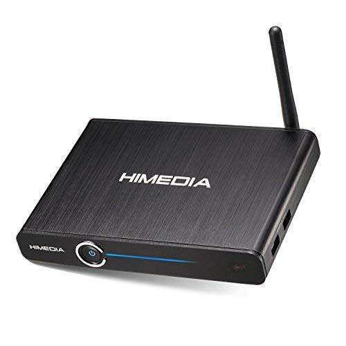 HIMEDIA Q30 4K (Ultra HD) HDR & 3D Android TV Box/Mini PC inklusive Airmouse