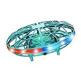 UFO Mini Drohne, Wiederaufladbare Infrarot Induktions Drohne 360 ° Drehung Fliegendes Spielzeug...