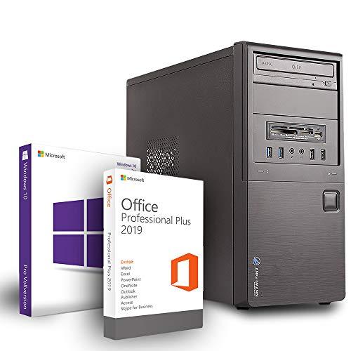 Ankermann Workstation PC Intel i5-9400F 6X 2.90GHz GeForce GT 710 2GB 16GB RAM...