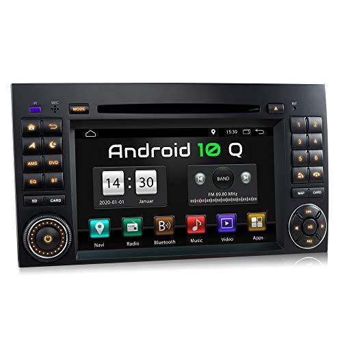 XOMAX XM-D10ZA Autoradio mit Android 10 passend für Mercedes A-Klasse W169,...