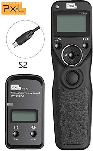 Kabellose Fernausl/öser TW-283//S2 Ausl/öser Timer Drahtausl/öser 2,4GHz f/ür Sony