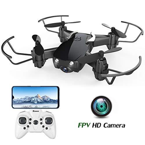 EACHINE E61HW Mini Drohne mit Kamera Live Übertragung für Kinder Anfänger WiFi FPV ,Kopflos Modus,3D Flip,Höchenhaltung, RC Quadrocopter,...