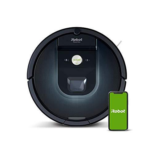 iRobot Roomba 981 Saugroboter mit 3-stufigem Reinigungssystem, Raumkartierung,...