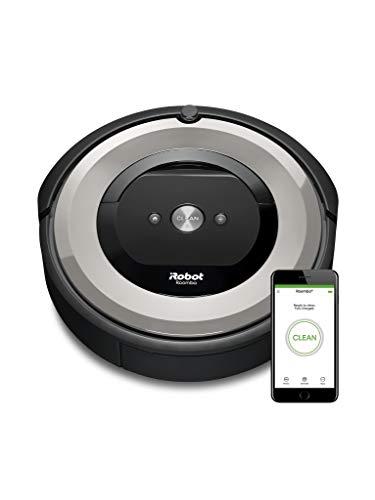 iRobot Roomba e5 (e5154) Saugroboter mit mit 3-stufigem Reinigungssystem, zwei Multibodenbürsten, WLAN Staubsauger Roboter, Ideal für Haustiere,...