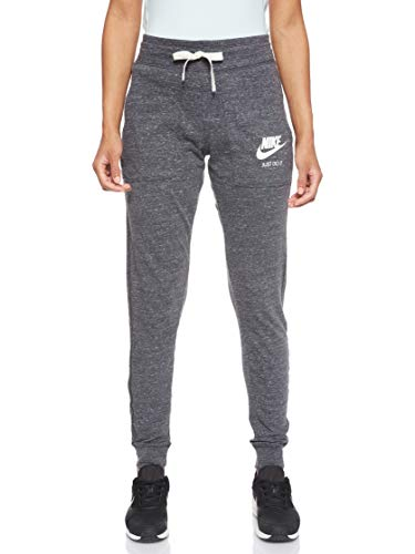 Nike Trainingsbroek Dames Gym, Grijs (Antraciet / Zeil), S
