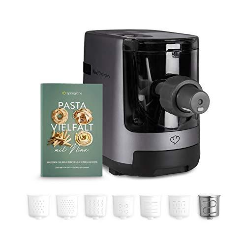 Elektrische Nudelmaschine Nina, vollautomatisch, Pastamaker mit Wiegefunktion...
