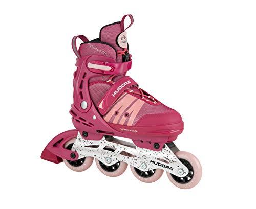 HUDORA Inline Skates Comfort, strong berry | Gr. 29-34 | Softboot Inliner...