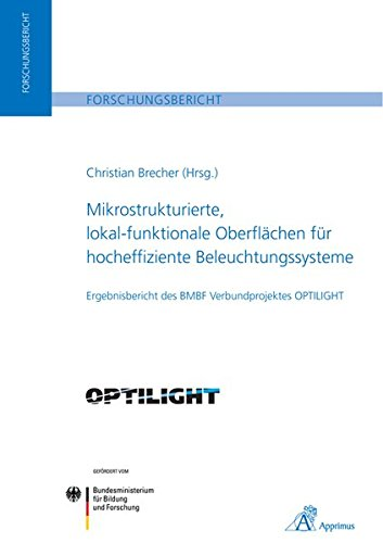 Mikrostrukturierte, lokal-funktionale Oberflächen für hocheffiziente Beleuchtungssysteme: Ergebnisbericht des BMBF Verbundprojektes OPTILIGHT