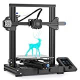 Creality Ender 3 V2 3D printer (upgrade Ender 3 Pro) with 32-bit silent motherboard, Meanwell power supply, ...