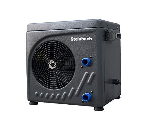 Steinbach Mini Wärmepumpe für Pools bis 20.000 l Wasserinhalt, Heizleistung...