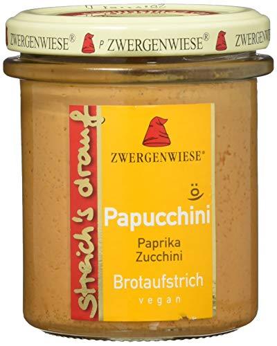 Zwergenwiese Bio Aufstrich streichs drauf Papucchini (Paprika-Zucchini)...