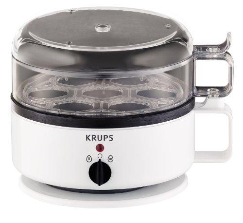 Krups F23070 Eierkocher mit Wasserstandsanzeige | Für bis zu 7 Eier | Koch- und...