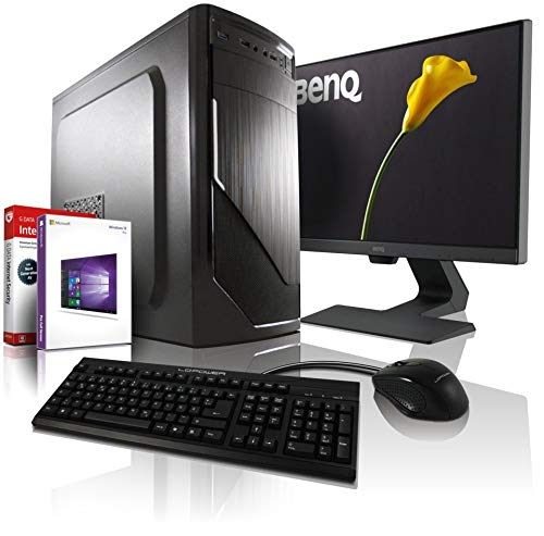 Komplett PC Allround/Multimedia Computer mit 3 Jahren Garantie! | AMD Ryzen3 1200 4x3.4 GHz | 8GB DDR4 | 256GB SSD | 500GB | USB3 | DVDRW | WLAN |...