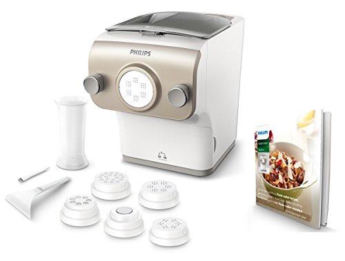 Philips HR2381/05 Pastamaker (200 Watt, vollautomatische Nudelmaschine, mit...
