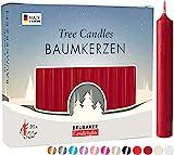 Brubaker 20er Pack Baumkerzen Wachs - Weihnachtskerzen...