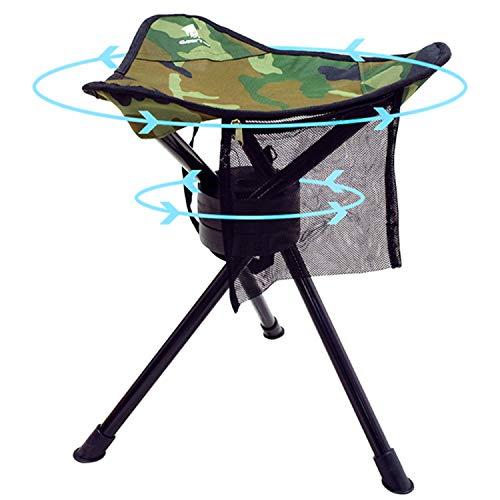 bo-camp Camping 3-Bein Hocker Deluxe mit 55 cm Sitzh/öhe