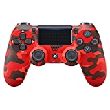 PlayStation 4 - DualShock 4 Wireless Controller, Red Camouflage (Exclusive to Amazon)
