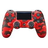 PlayStation 4 - DualShock 4 trådløs controller, rød ...