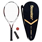 Senston tennis racket women / men tennis racket set with tennis bag, overgrip, vibration damper