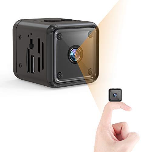 Mini Kamera, 1080P HD Kleine Überwachungskamera Lange Batterielaufzeit...