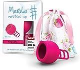 Merula Cup strawberry (pink) - One size Menstruationstasse aus medizinischem...
