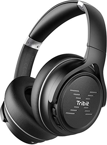 Tribit XFree Go Bluetooth Kopfhörer Over-Ear, kopfhörer kabellos mit Bluetooth...