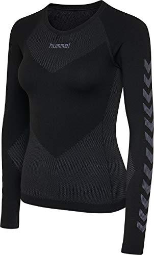 Schwarz TCA Superthermal Quickdry Damen Laufshirt//Funktionsshirt mit Rundhalsausschnitt M