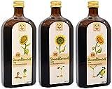 Масло подсолнечное органическое 1,5л (3х500мл) - нативное и холодного отжима ...