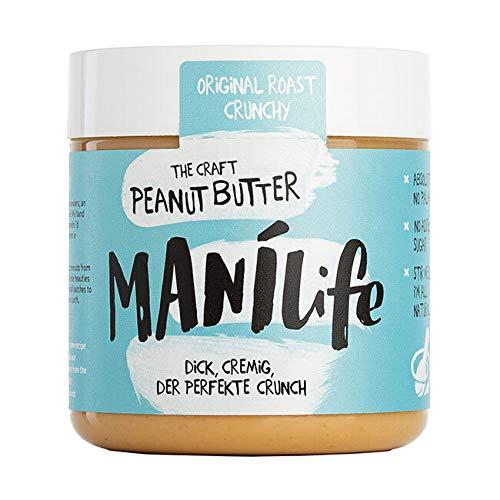ManiLife - Original Roast Crunchy Peanut Butter - Erdnussbutter mit...