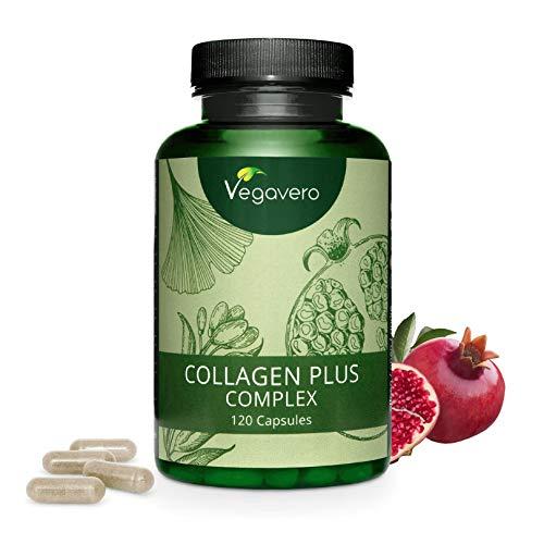 COLLAGEN Complex Vegavero®   NICHT aus Tierresten   120 oder 270 Kapseln   mit Acerola Vitamin C, Goji Beere, Ginseng, Ginkgo Biloba und Hagebutten  ...