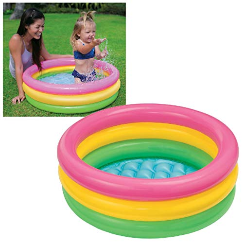 Intex Sunset Glow Baby Pool - Kinder Aufstellpool -...