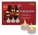 Idena 50023 - 24 stykker LED-te-lys, elektriske lys ...
