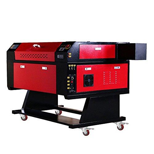 ZauberLu Laser-Graviermaschine KH7050 Co2 Laser-Graveur 80W Fräsmaschine für Holzbearbeitung